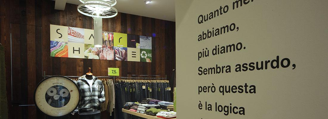 Share, a Milano e Varese la moda degli abiti usati veste la solidarietà